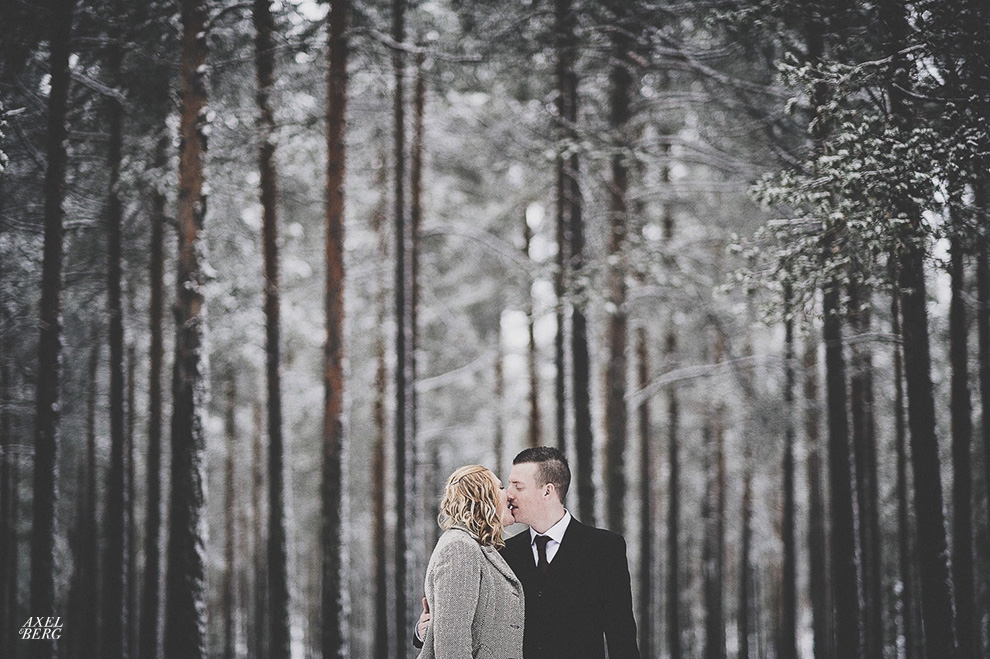 Fredrik's sister ties the knot and we are shooting it, Boden, Sweden