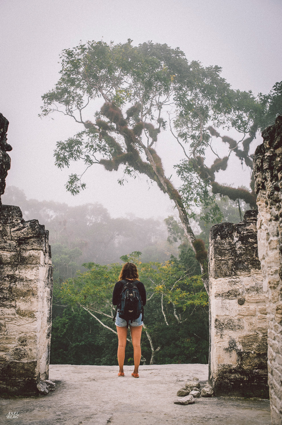 Waking up with the jungle in Tikal, Mexico