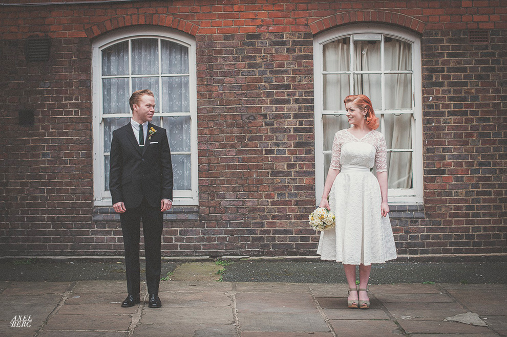 Everything came together for our styled shoot in London