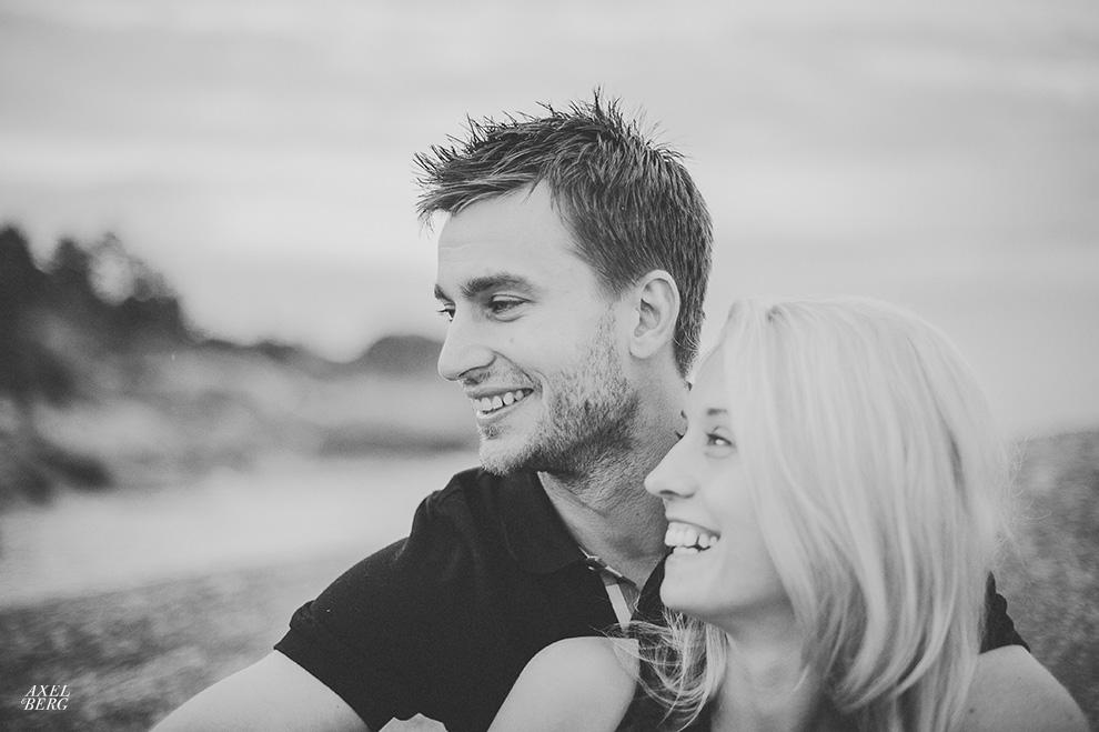 Engagement shoot at Spikarna, Sweden